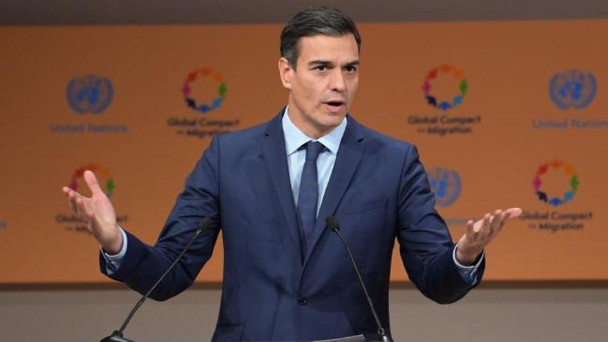 Sánchez pide combatir el odio al inmigrante que usan los partidos xenófobos