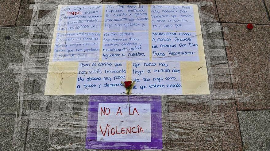 La Policia pren declaració a set implicats en la mortal pallissa d'un noi de la Corunya