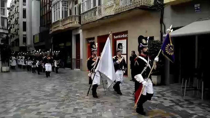 Pasacalle de los granaderos marrajos en Cartagena