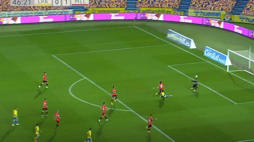 Vídeos de los goles del partido UD Las Palmas 1 - 1 Real Mallorca