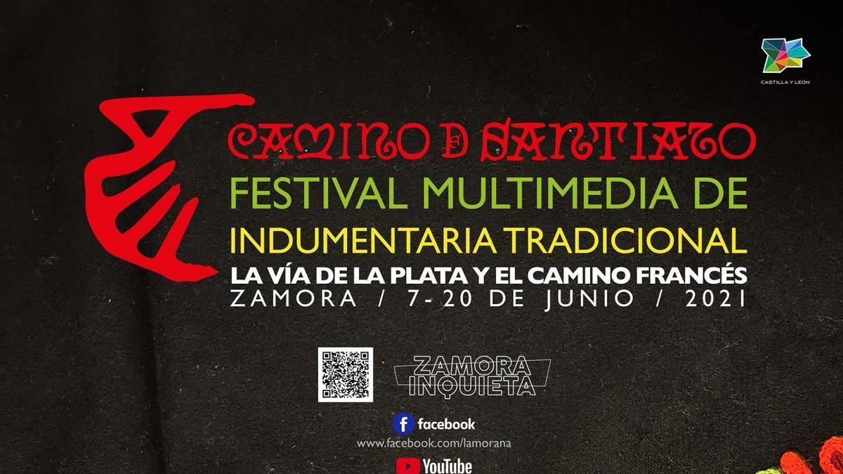 """Programa Festival de Indumentaria Tradicional de Zamora """"Camino de Santiago"""""""