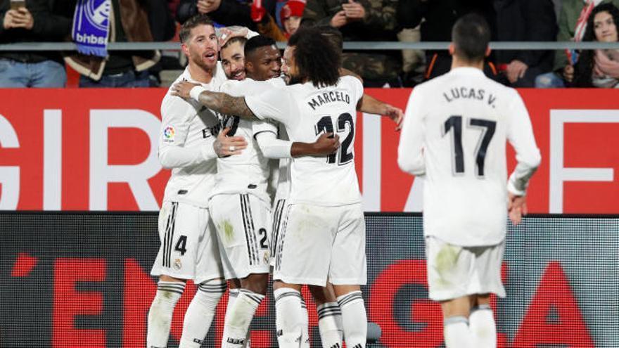 Copa del Rey: Los goles del Girona-Real Madrid (1-3)