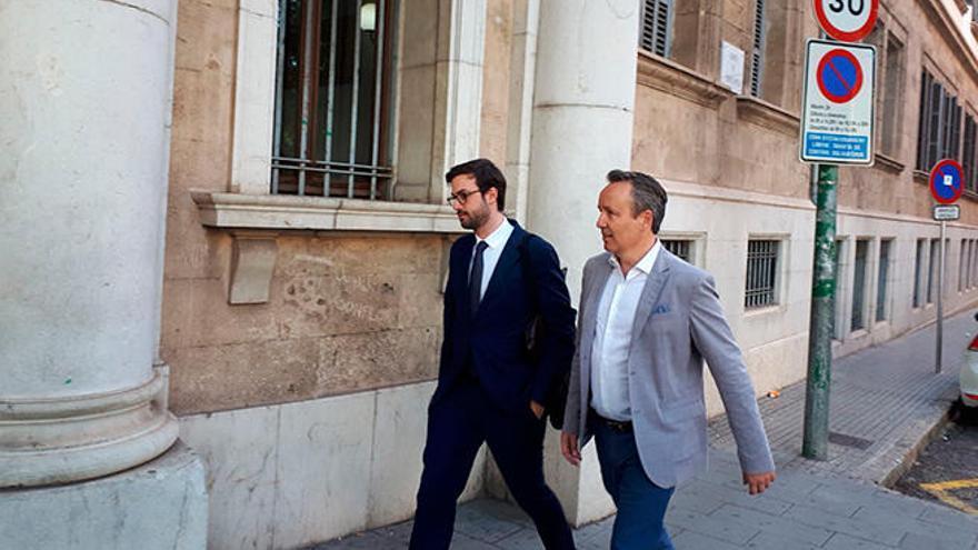 Pere Muñoz niega haber dado un trato de favor a Jaume Garau