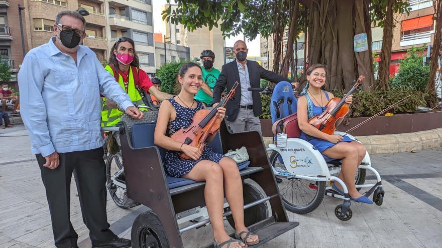Entidades abogan por más predominio de la bici y el paseo en l'Horta