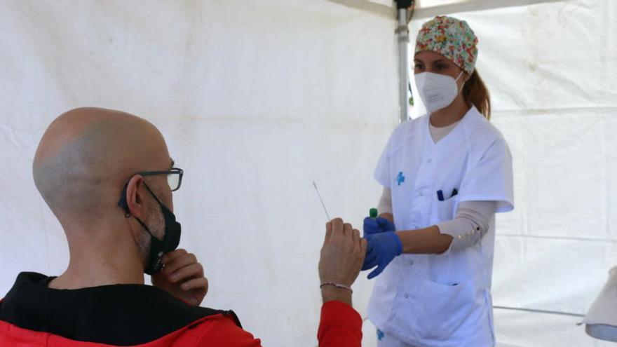 L'àrea bàsica de Sant Vicenç acumula 128 nous casos de covid en 15 dies