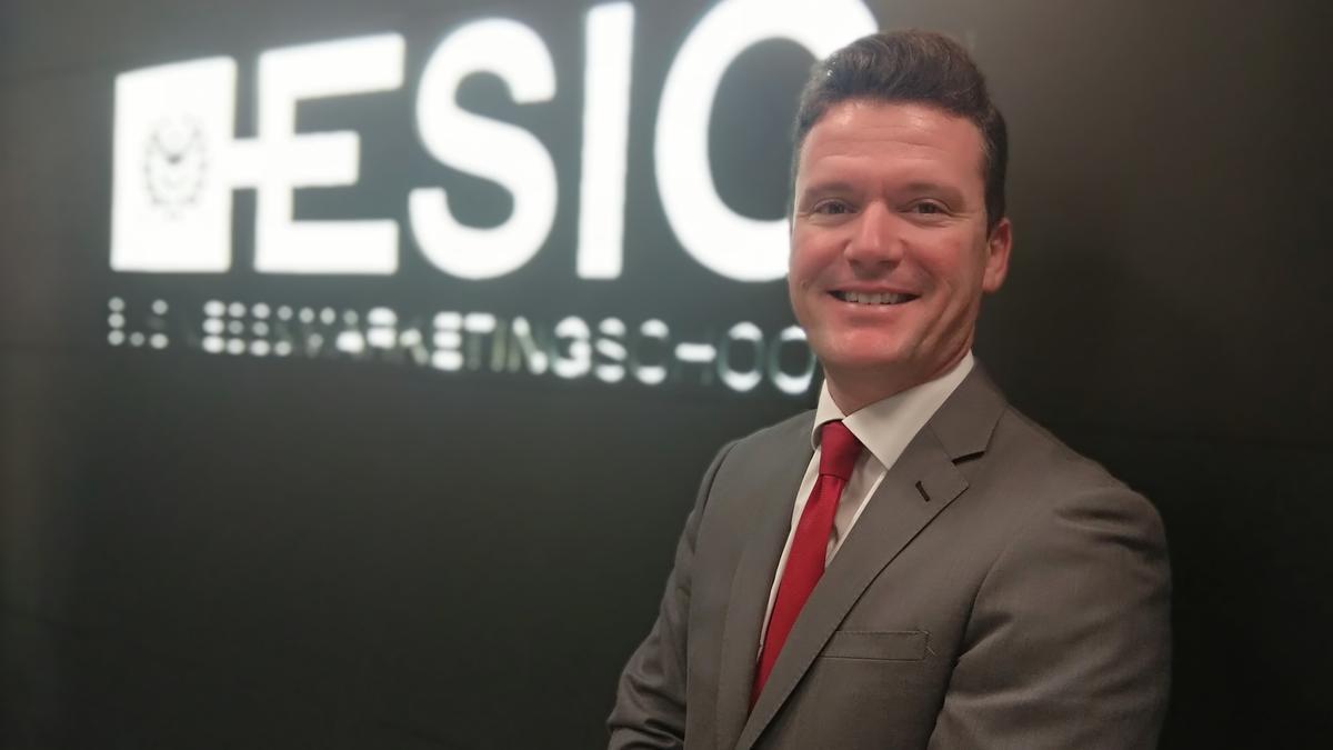 Ángel Garrigós, nuevo director de Marketing del campus de Valencia de ESIC.