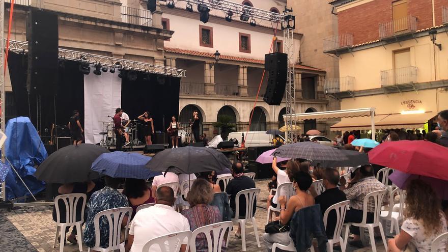 Fin de fiestas anticipado en Nules por las lluvias