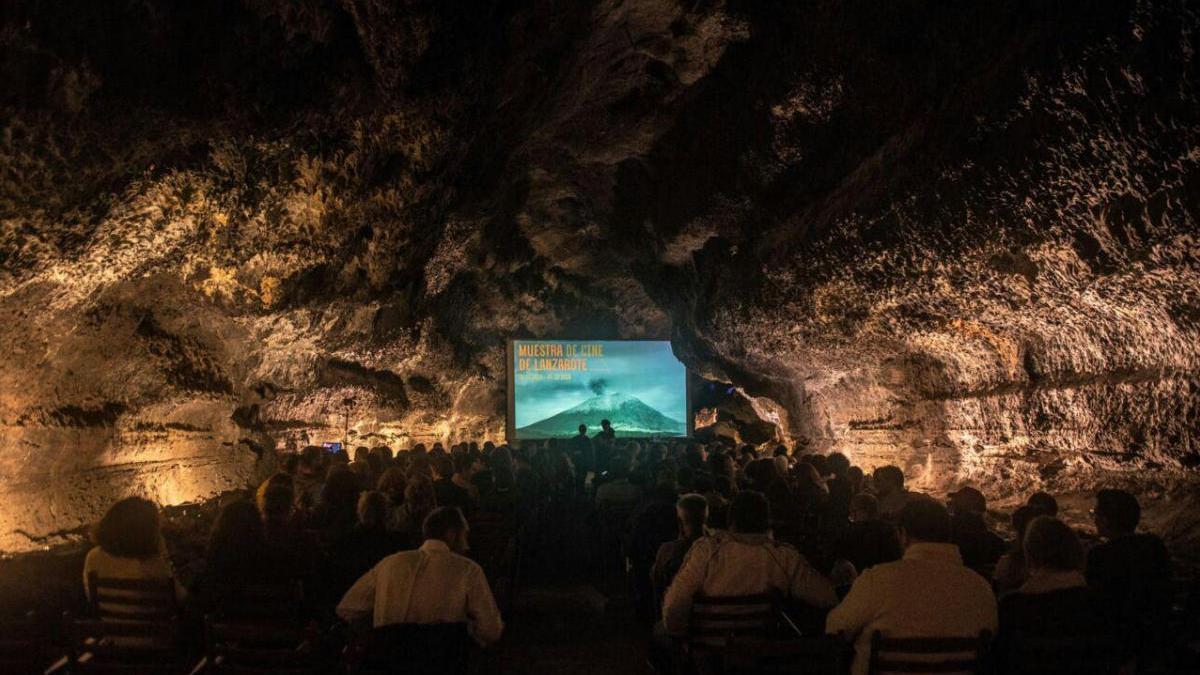 Imagen de archivo de una edición de la Muestra de Cine de Lanzarote