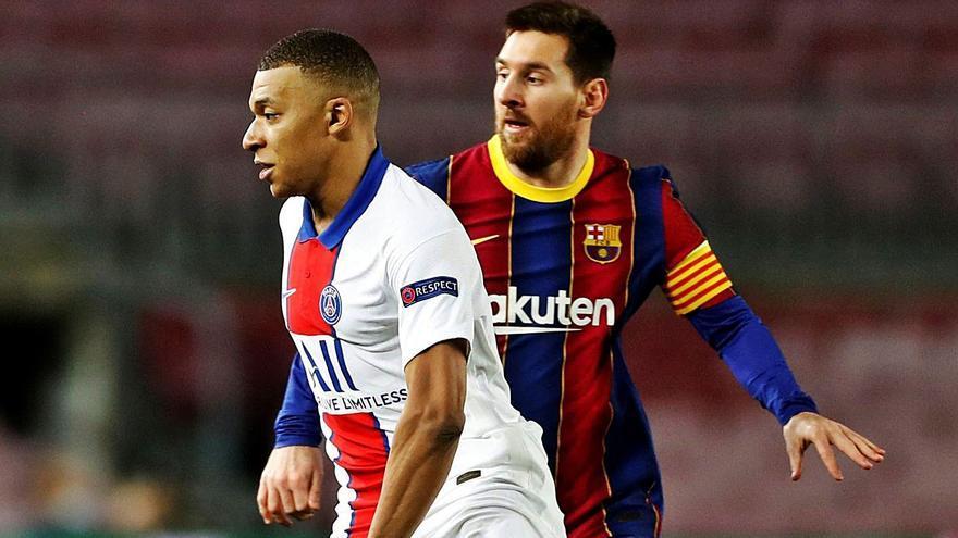 Messi enfila hacia París