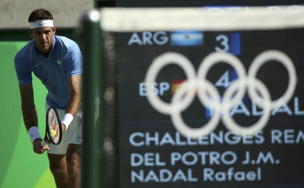 Olimpiadas Río 2016: Del Potro - Nadal