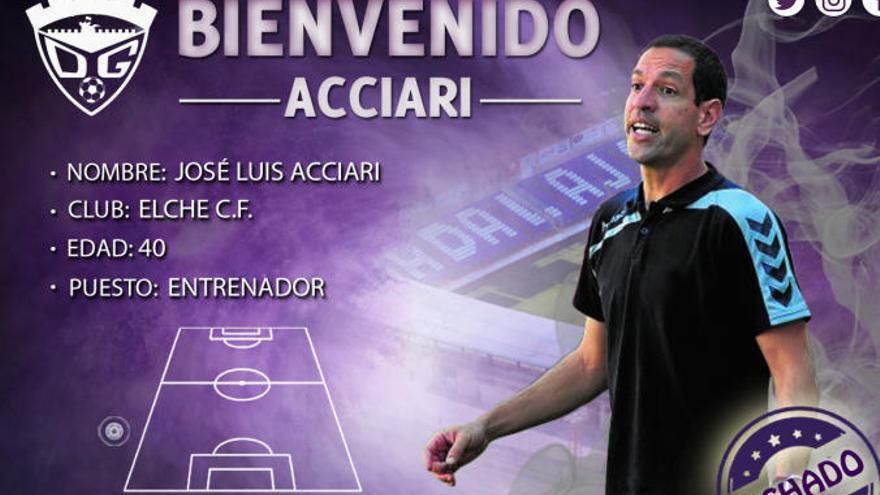 Acciari firma con el Guadalajara de Tercera División tras dejar el Elche