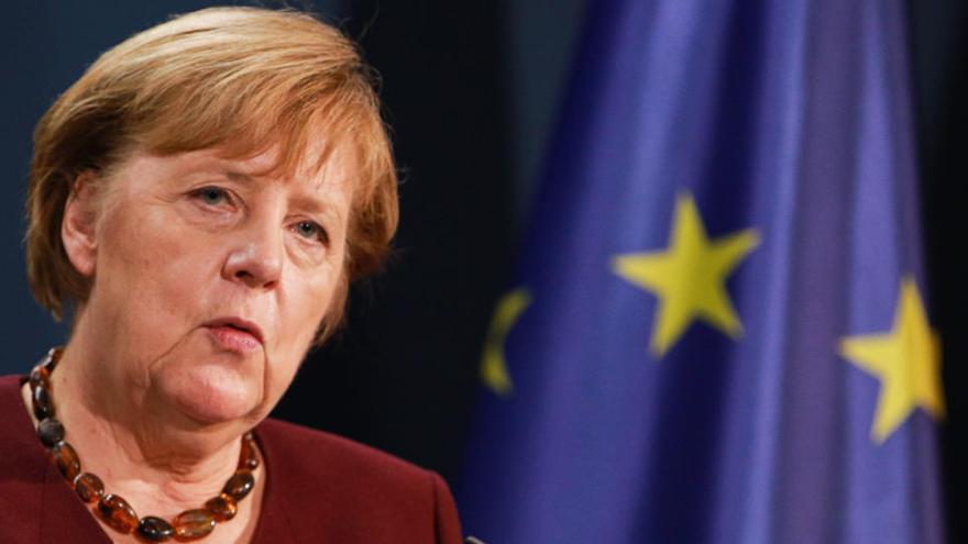 Merkel urge a definir los objetivos comunes de seguridad y defensa de la UE