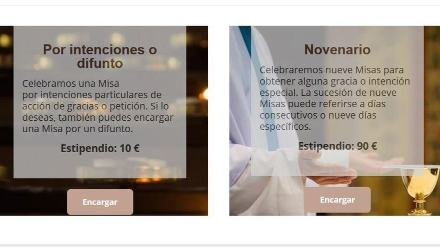 Una iglesia de València ofrece funerales online