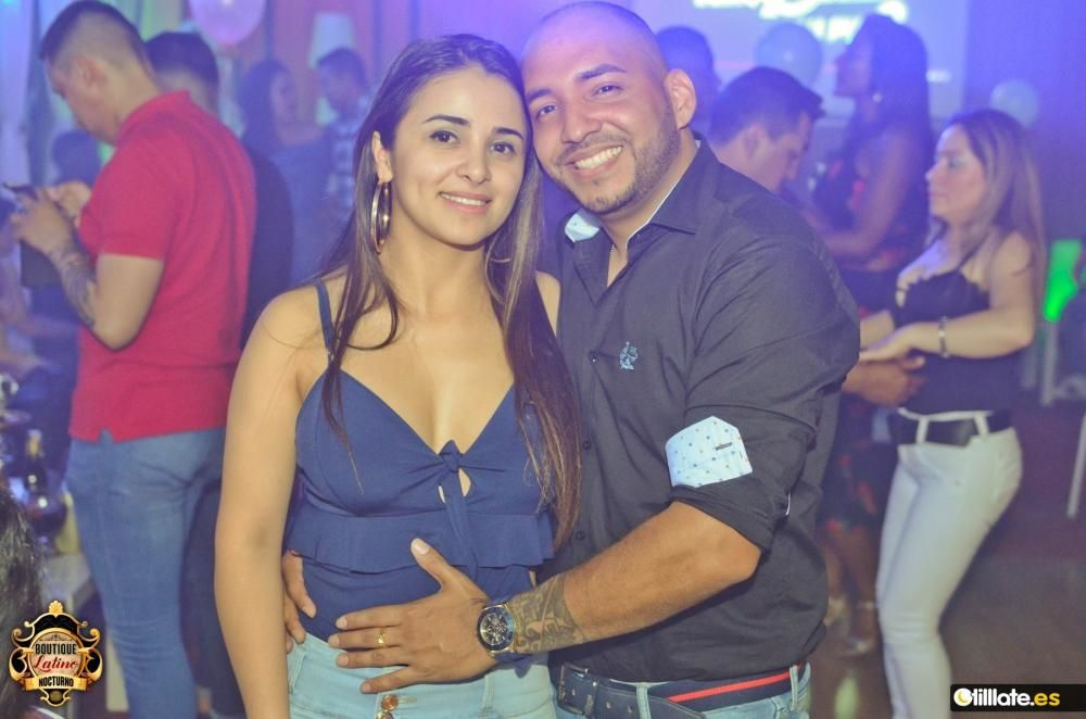 ¡Búscate en la noche murciana! Boutique Latino (04/6/2019)
