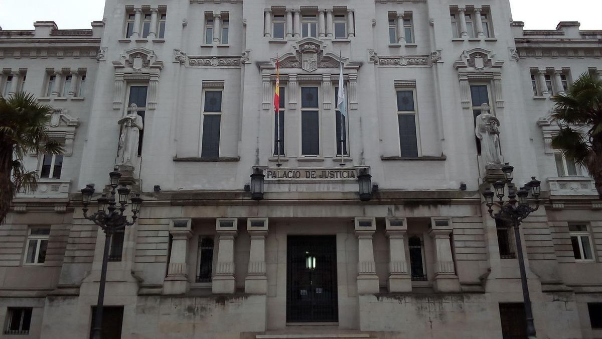Una imagen del Tribunal Superior de Justicia de Galicia.