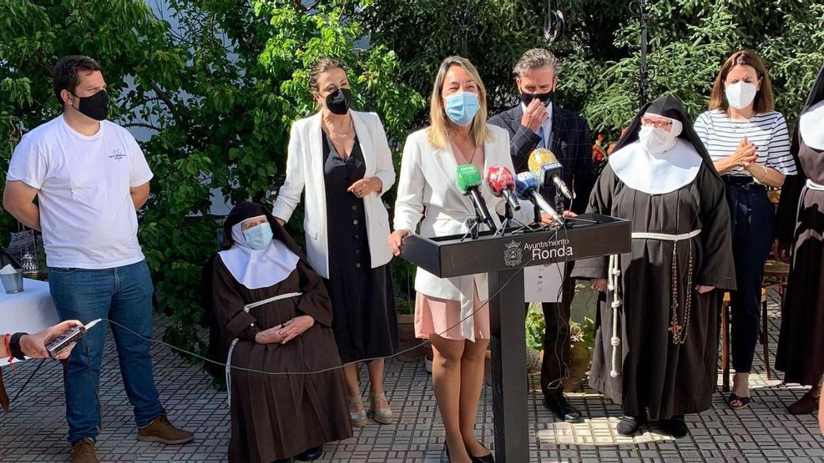 Presentación del libro  'La Confitería. Las Clarisas Franciscanas'