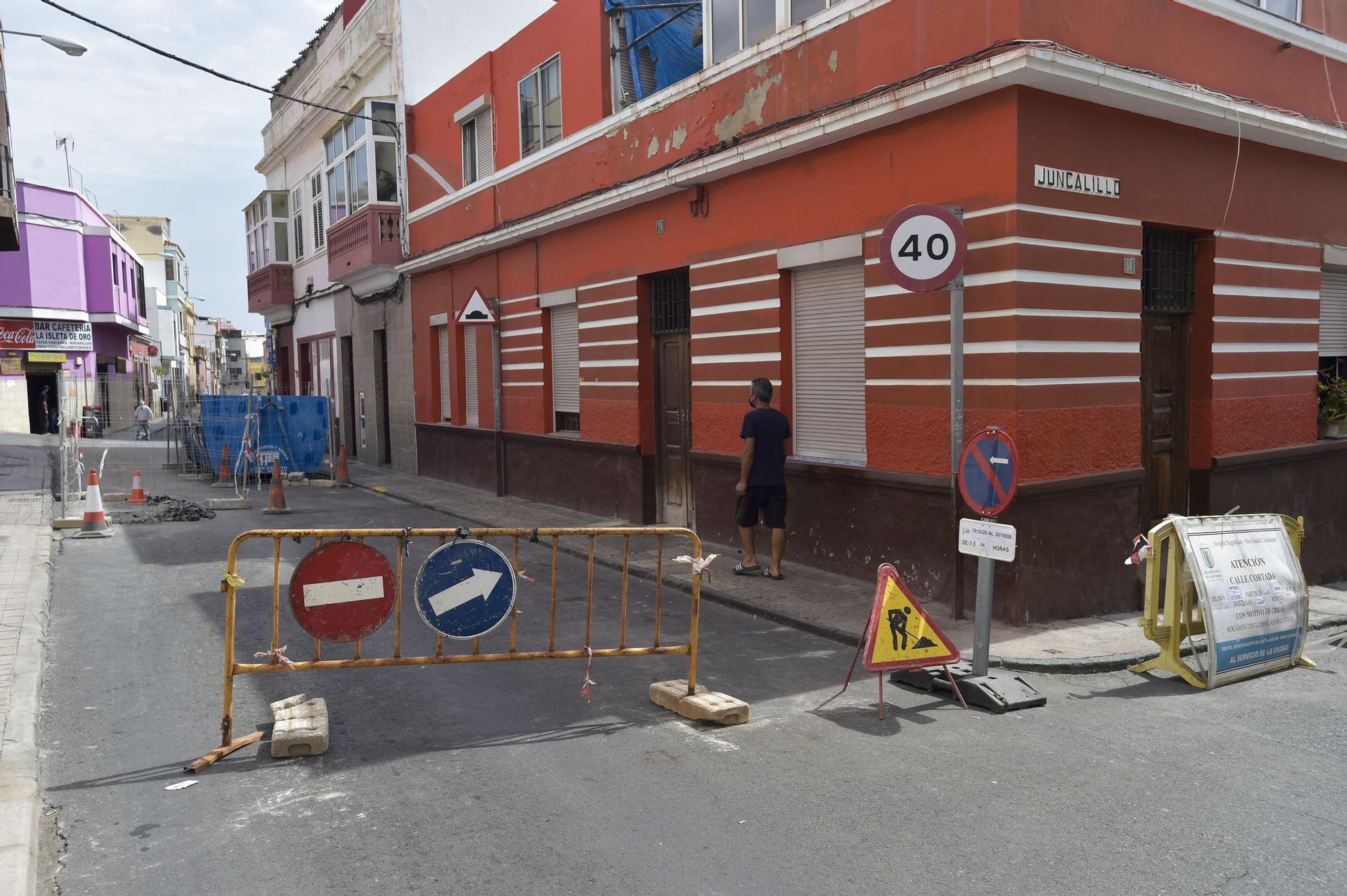 Obras en la calle Osorio
