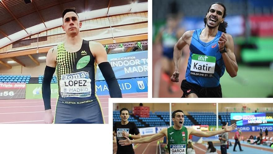 Horarios de las pruebas de los atletas murcianos en el Campeonato de Europa en pista