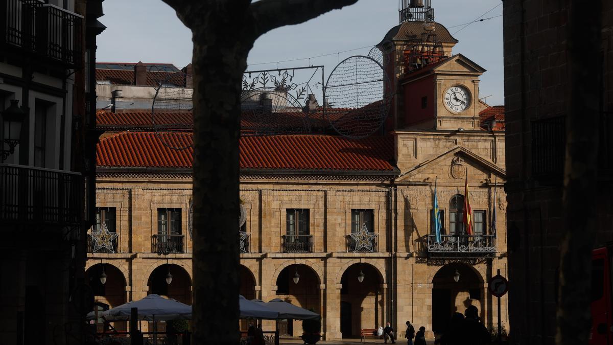 El ayuntamiento de Avilés.