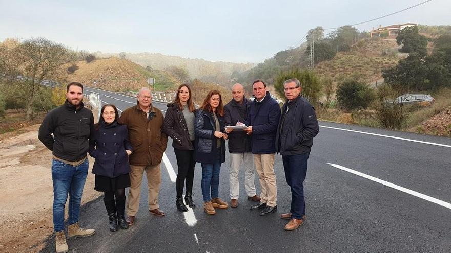 La Diputación arregla la carretera entre Adamuz y Algallarín, de gran afluencia de tráfico