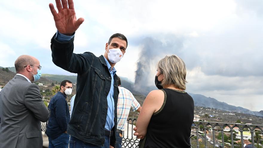 Comparecencia de Pedro Sánchez desde La Palma