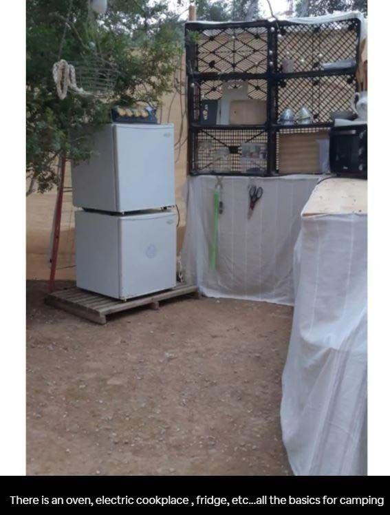 Celdas y tipis a precio de suite en Ibiza