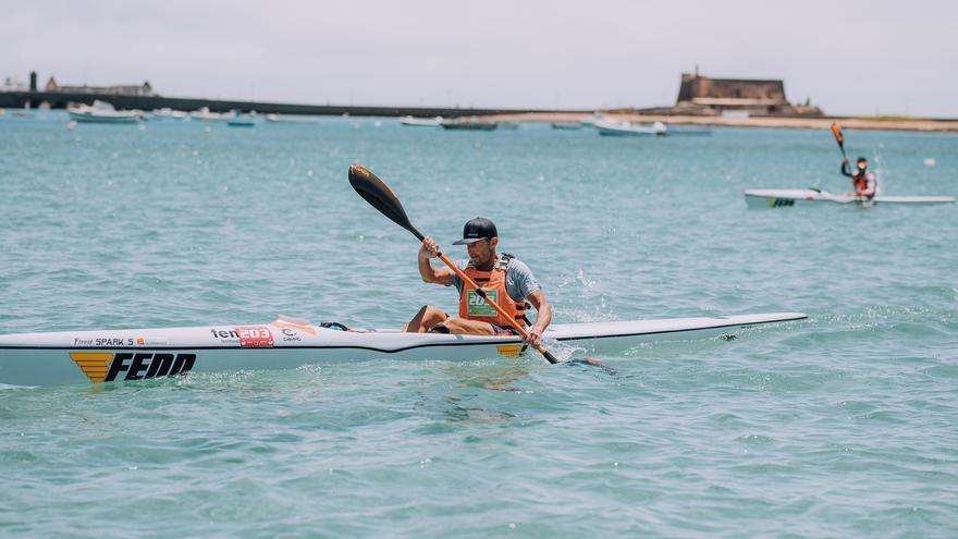Tres medallas para los españoles en el campeonato mundial de kayak de mar celebrado en Lanzarote