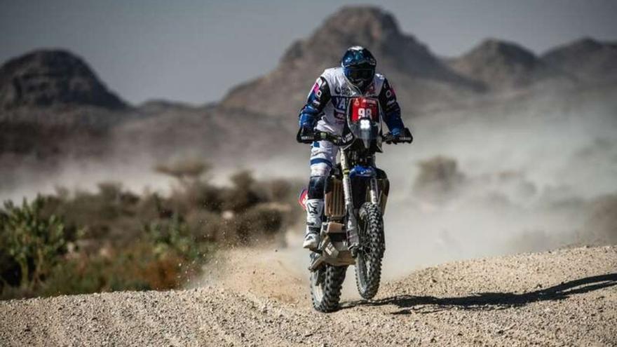 Sara García acaba la séptima etapa del Dakar 2021 entre los 60 primeros