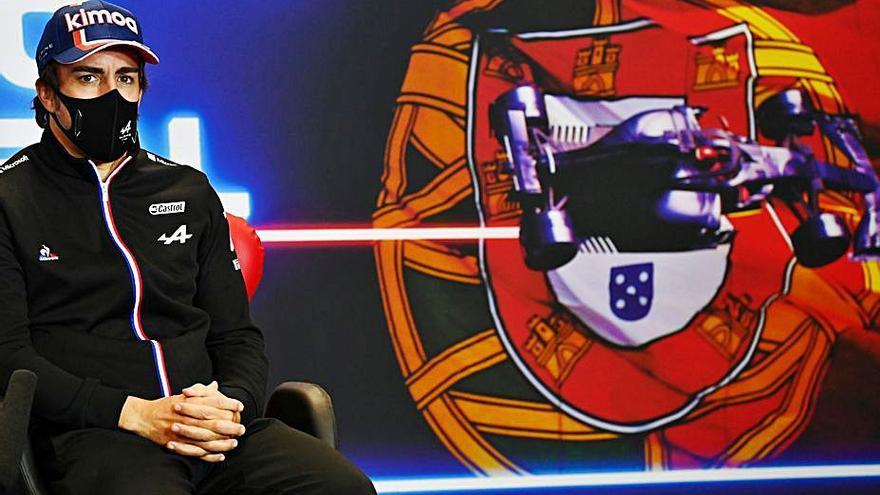 """El asturiano Fernando Alonso se prepara para Portugal: """"Pronto estaré al cien por cien"""""""