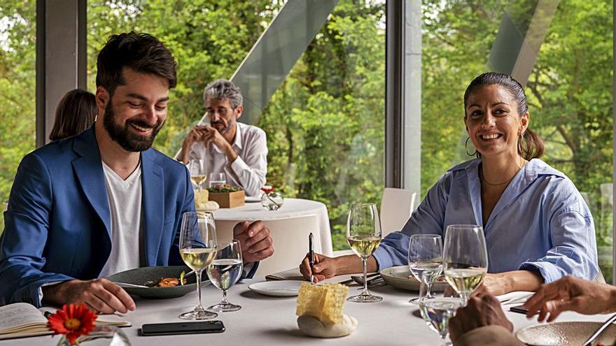 El restaurant d'estrella L'Ó reobre amb una proposta renovada