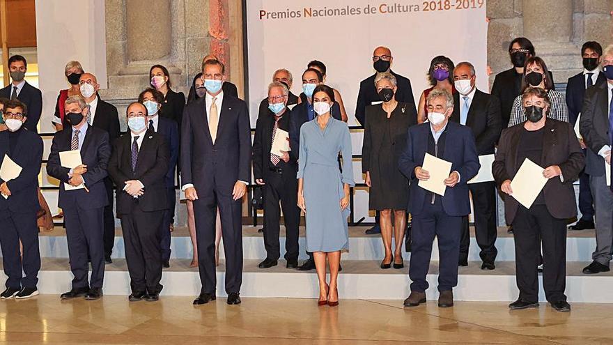 El rey loa el papel de la cultura en la entrega de los Premios Nacionales