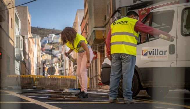 Comienzan las obras de la Avenida Venezuela.