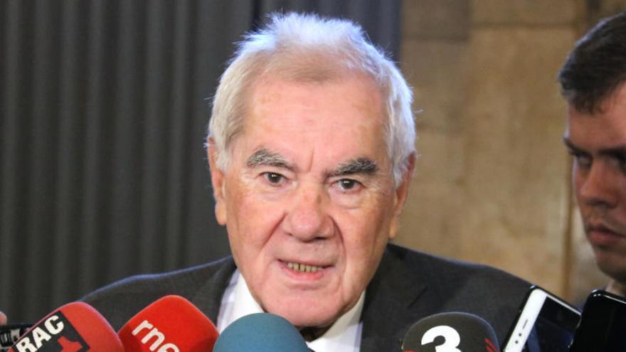 Maragall presentarà dimarts la renúncia com a conseller d'Acció Exterior