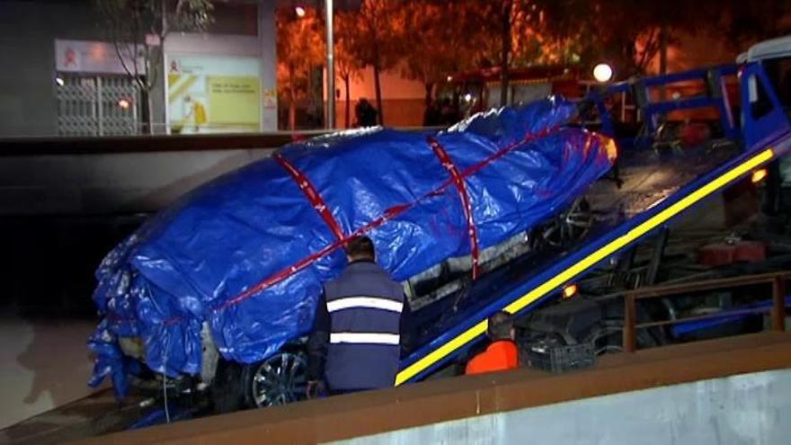 Indagan si las cámaras de seguridad grabaron al que puso la bomba en Viladecans