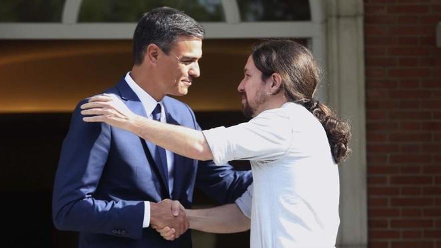 Iglesias amaga con no apoyar a Sánchez si no hay coalición