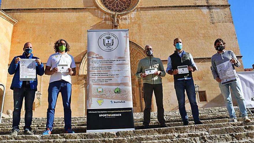 Felanitx organiza cuatro pruebas para «reactivar el municipio»