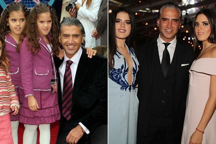 Las hijas de Alejandro Fernández.