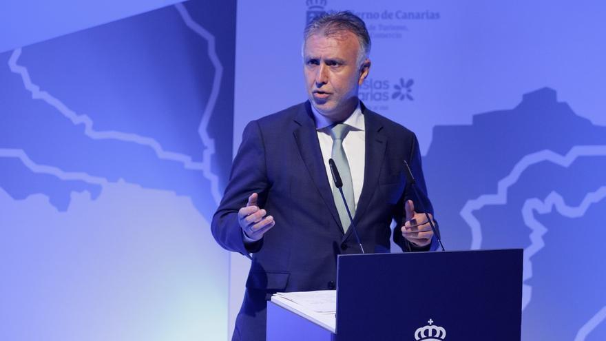 Torres apunta que el deseo de TUI de volar a Canarias respalda a las Islas y espera un protocolo turístico de la UE