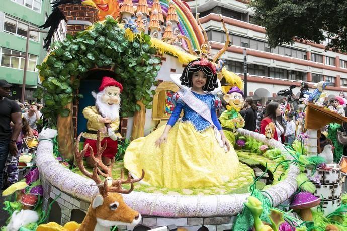 01.03.20. Las Palmas de Gran Canaria. Carnaval 2020.  Cabalgata infantil.  Foto: Quique Curbelo