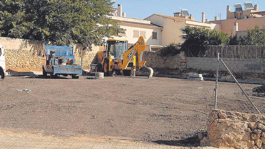 El Ayuntamiento habilita un nuevo aparcamiento en Pòrtol