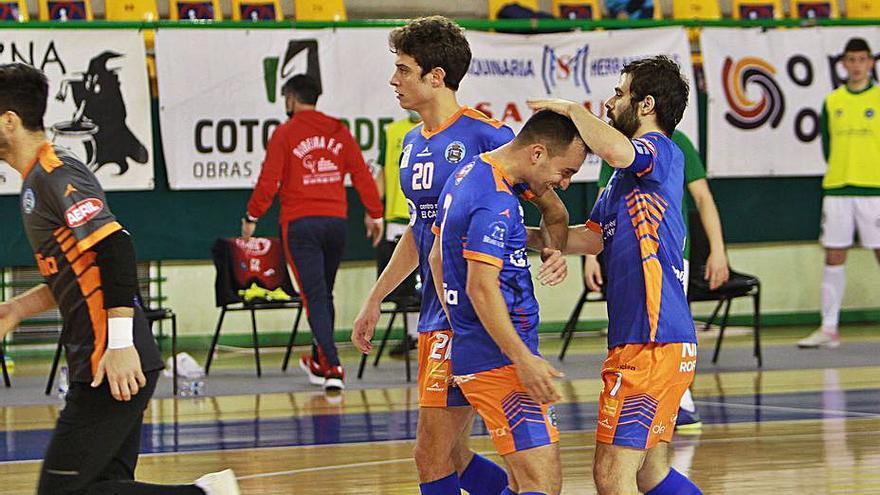 El Sala Ourense confía en su plantilla y renueva a siete de sus jugadores