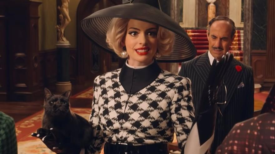 Anne Hathaway saca su lado más malvado en el tráiler de 'Las brujas' de Zemeckis