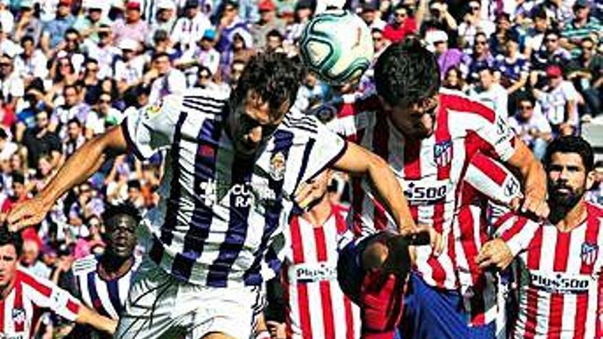 El Atlético se atasca en Valladolid en un partido de pocas ocasiones