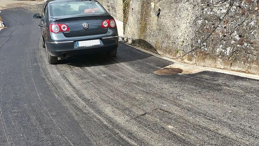 Concluye la reparación de la carretera de Cocañín, que reabre al tráfico tras dos años