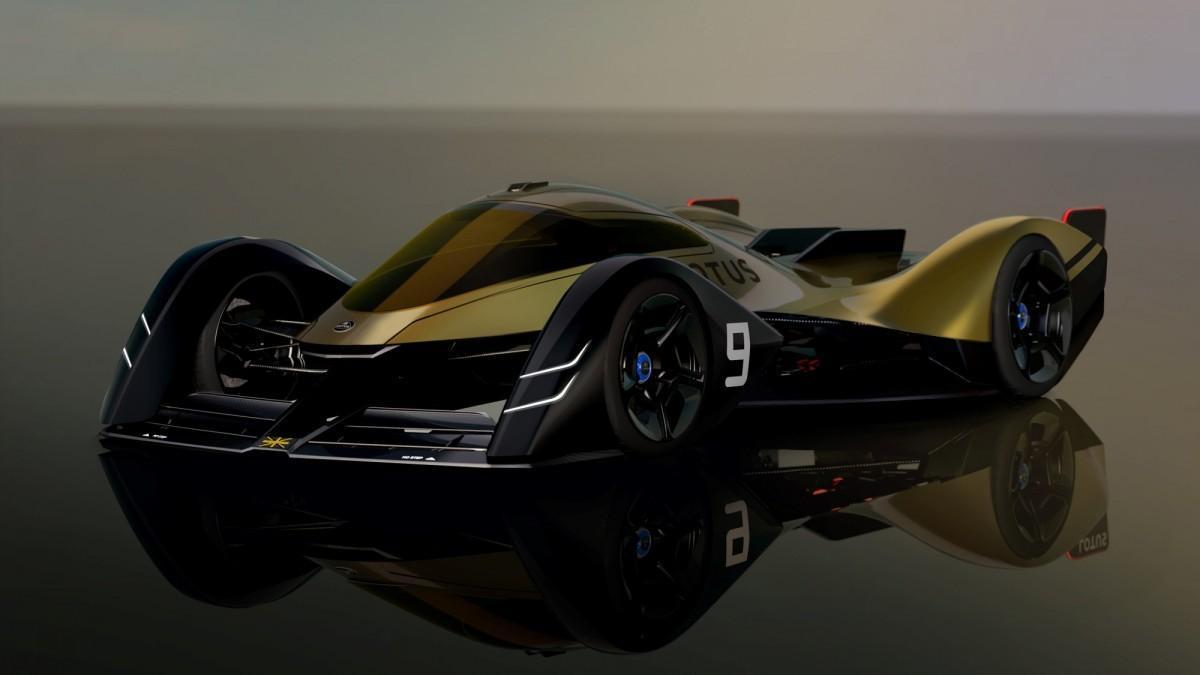 Lotus E-R9, un concept car que anticipa el futuro de los coches de Le Mans