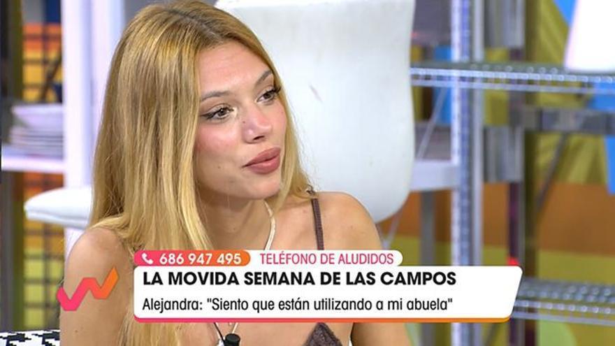 """Alejandra Rubio carga de nuevo contra Kiko Hernández: """"Están utilizando a mi abuela"""""""