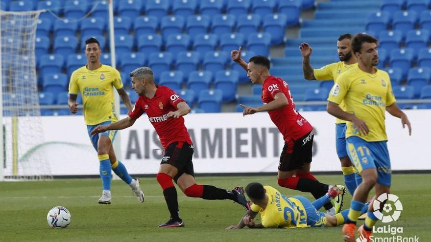 Vea aquí los goles y el resumen del empate del Mallorca ante Las Palmas (1-1)
