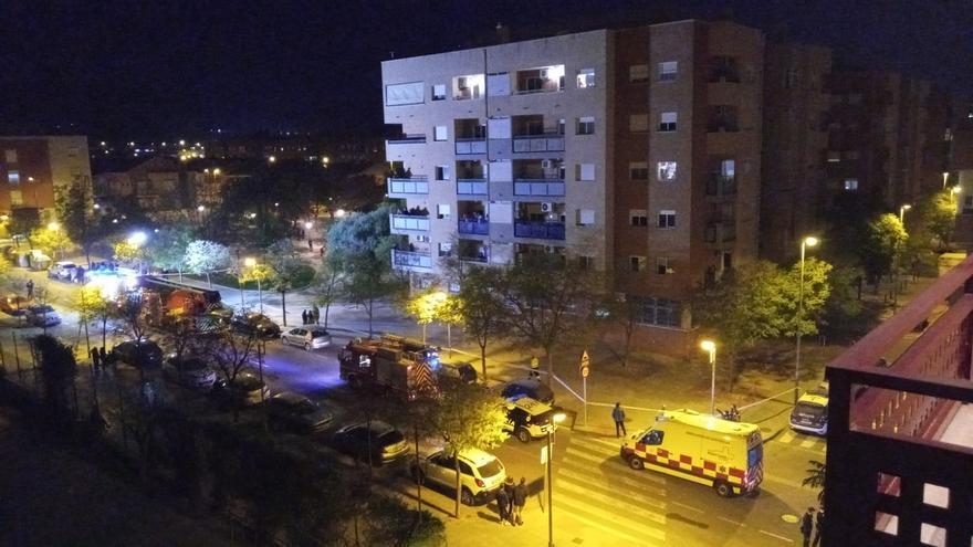 Intoxicadas varias personas en el incendio de un piso en Murcia