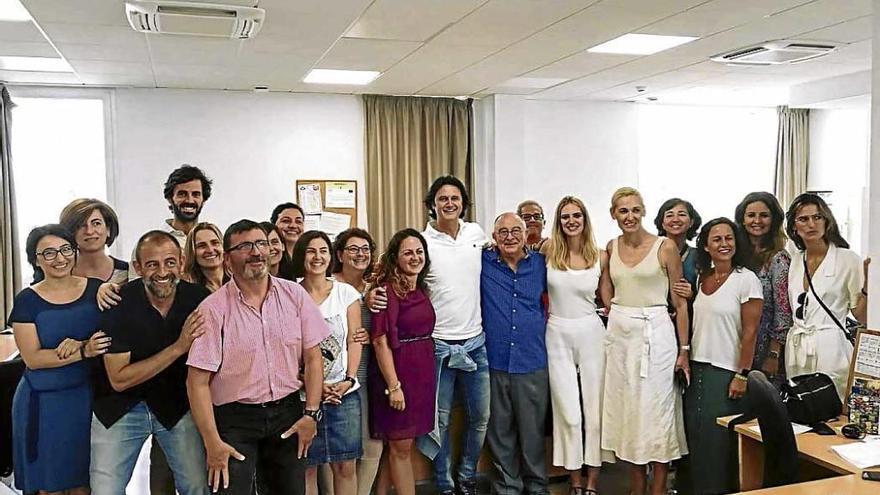 La actriz Silvia Alonso se relaja en Mallorca