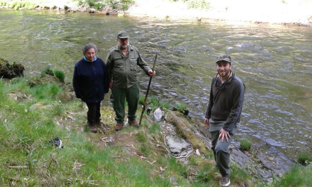 Pesca del campanu 2017 en el Eo